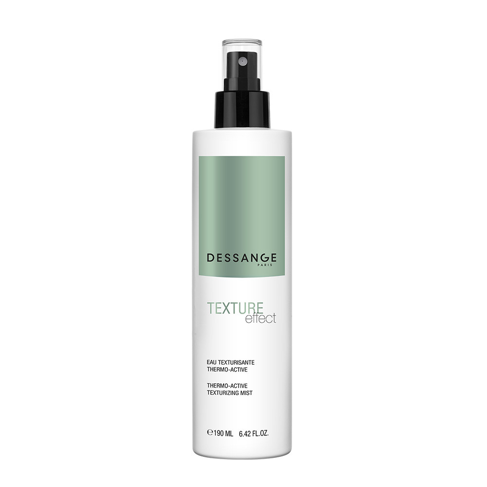 Thermo-active texturizing mist