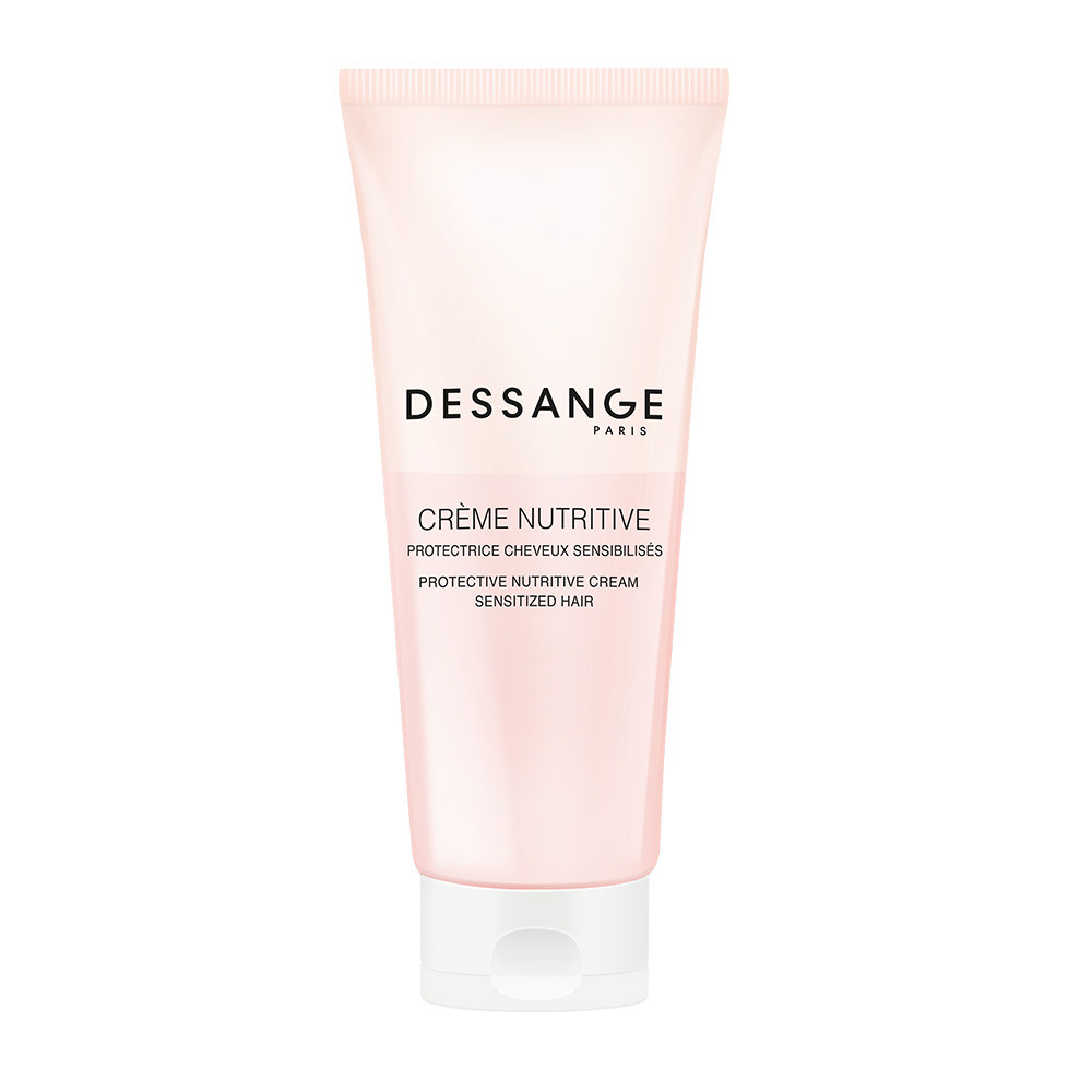 Protective nutritive cream sensitized hair