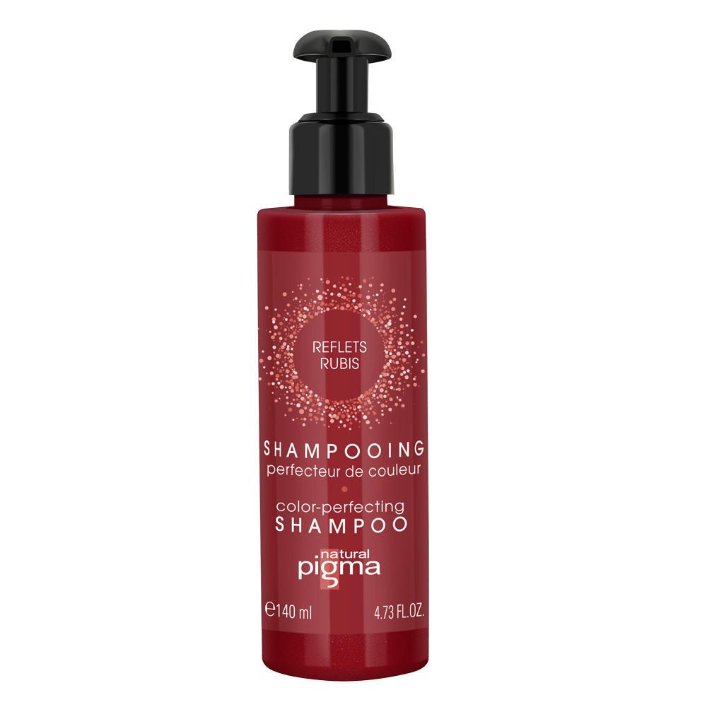 Color-perfecting shampoo Ruby reflections