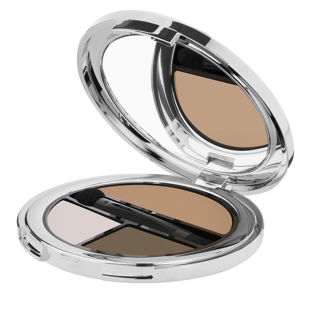 Beautifying palette for eyes and eyebrows