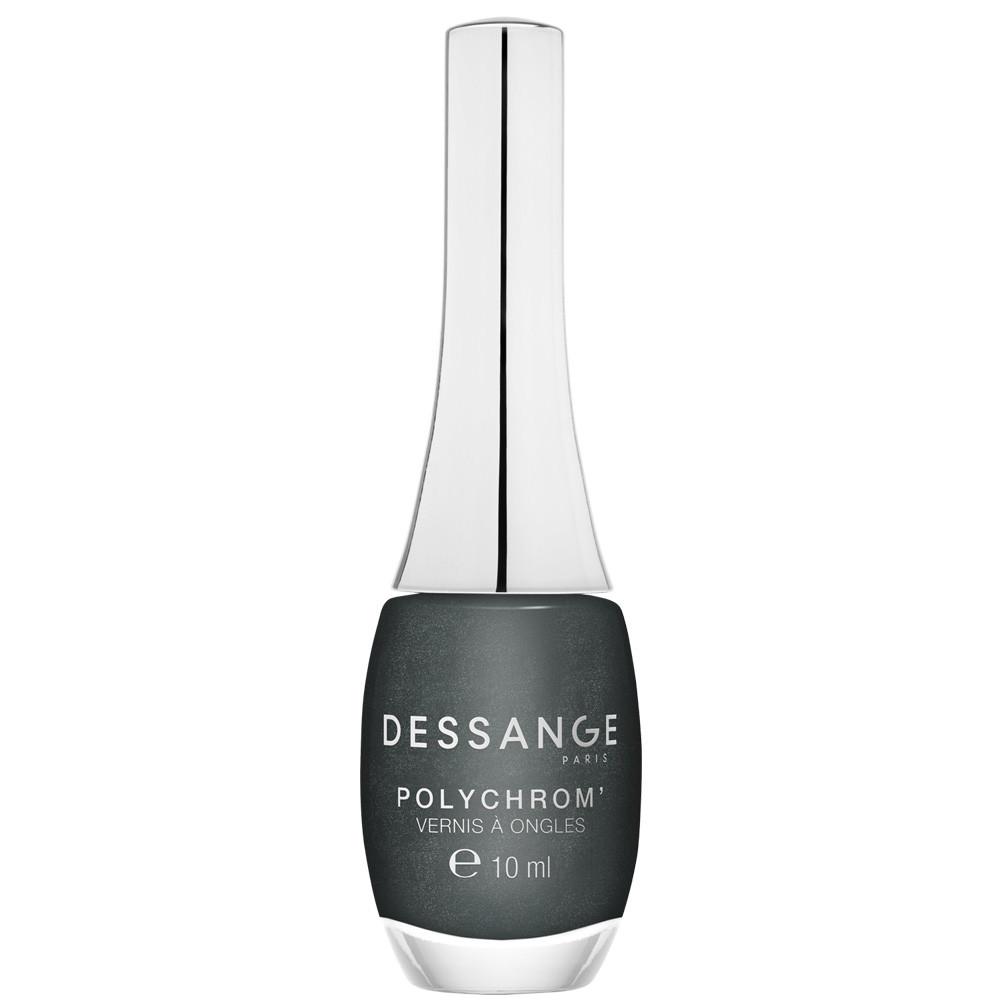 Long-lasting shine nail lacquer Metallic carbone