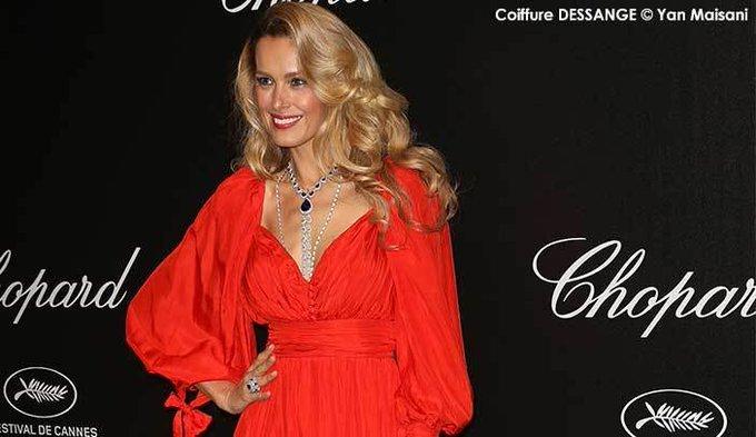 Décryptage coiffure Cannes 2019 : le Brushing à l'américaine de Petra Nemcova
