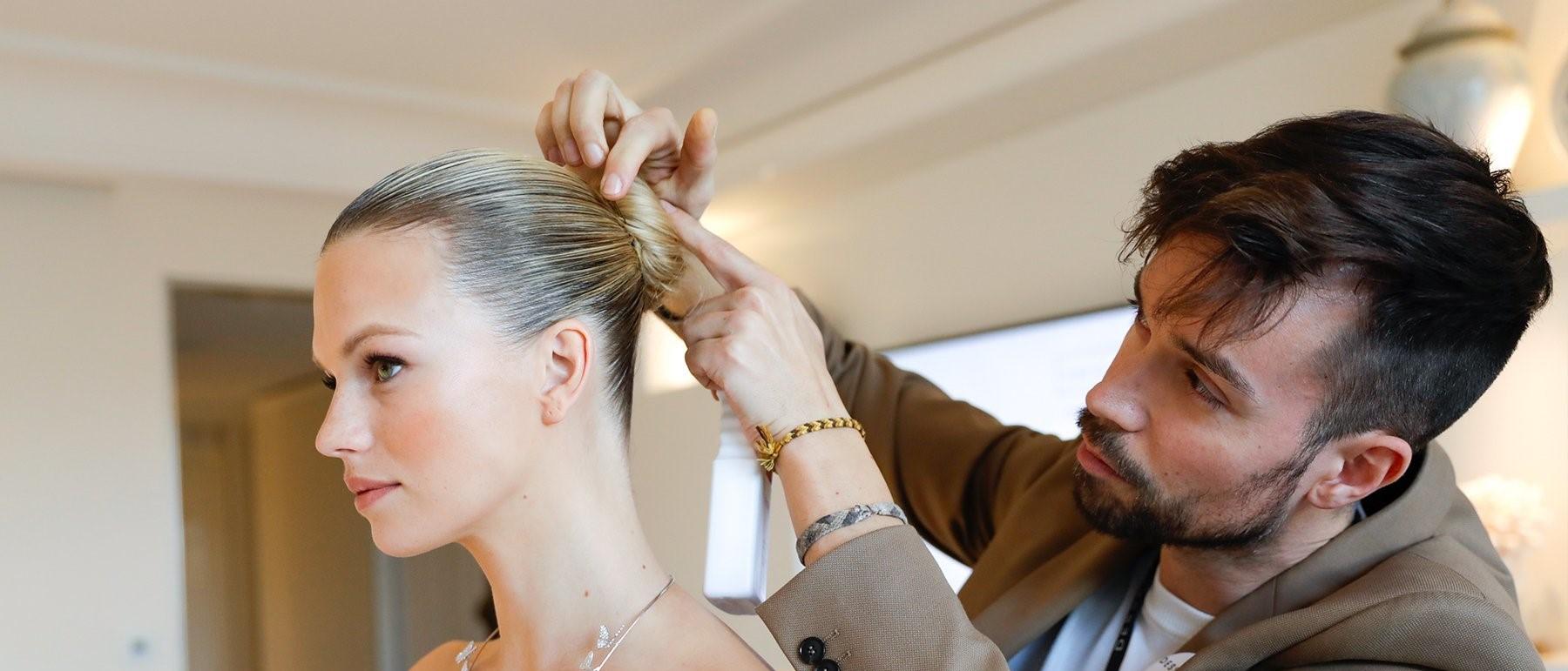 Décryptage coiffure Cannes 2019 : le Chignon Ballerine de Nadine Leopold