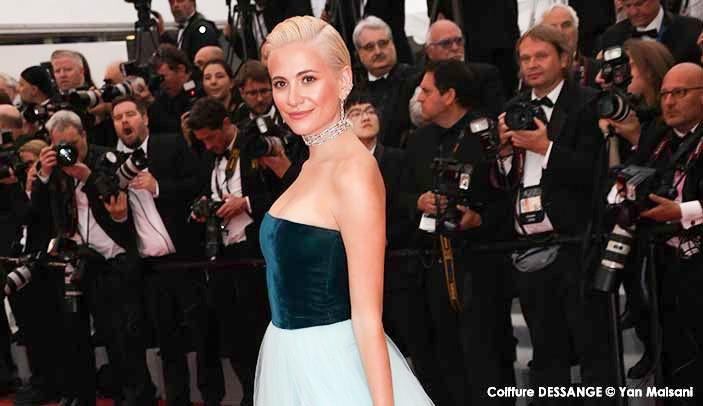 Décryptage coiffure Cannes 2019 : le Low back twist de Pixie Lott