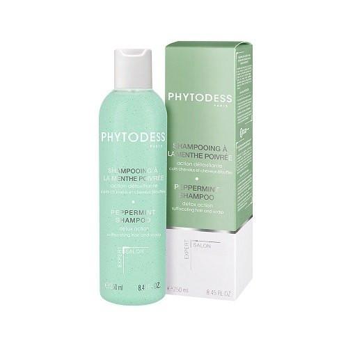 Shampooing à la menthe poivrée - Action détoxifiante