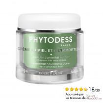 Crème au miel et à l'immortelle - Soin fondamental nutritif - Cheveux très sensibilisés